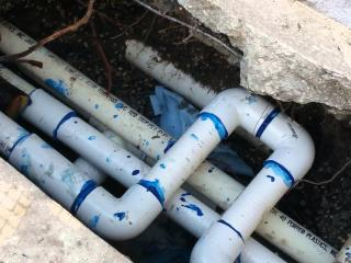 Pool Pipe Leak Detection