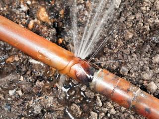 Underground Leak Repairs